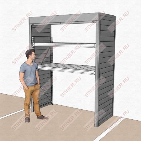 Шкаф для паркинга 2000*2500*900